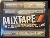 NEW SEALED Mixtape The song and Scenario Card game. age 12 and up 3+ players