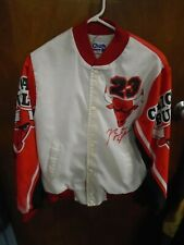 Chicago Bulls Michael Jordan Small Chalk Line BUtton Up Jacket
