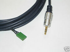 RENAULT CABASSE (some types) ~ AUX 3.5mm Jack Cable for iPod, iPhone, MP3 (1.5m)