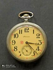 Vintage pocket watch Molniya USSR (working
