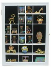 Small Wall Curio Cabinet/Miniature Thimble Display Case Shadow Box