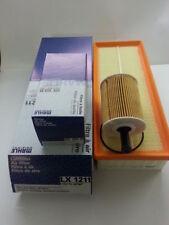 Seat Altea 2.0TDi 1968cc Oil Air Filter Service Kit Genuine Mahle 2004-2011
