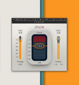 Waves Renaissance Vox RVOX Vocals Plugin - Genuine License - Digital Delivery