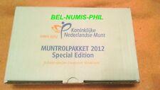 NEDERLAND 2012 - 10 Jaar Euro Special Muntrolpakket met 9 rollen - UNC!!!