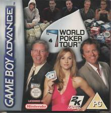 Game Boy Advance TM World Poker Tour juego nuevo real players real casinos