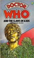 DOCTOR WHO<>THE CLAWS OF AXOS by TERRANCE DICKS<>3rd DOCTOR<>TARGET PAPERBACK