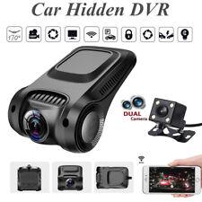 1080P WI-FI PER AUTO DVR Nascosto Dash Cam duplice obiettivo della fotocamera G-Sensor Video Recorder HA7G