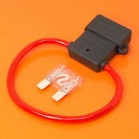 High Quality Maxi Blade Fuse Holder with 80 Amp Clear Fuse Car Van Boat Fuses