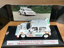 RALLY 1/43 MG METRO 6R4 PEADER HURSON WEXFORD STAGES CODE 3 1994