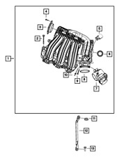 Genuine MOPAR Map Sensor 68199324AB