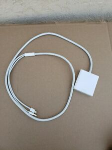 """Apple Mini DisplayPort And Thunderbolt to DVI adapter Untested """"as is"""""""