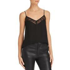 Equipment Femme Womens Layla Silk Lace Adjustable Cami Top Bhfo 5327