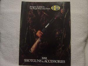 MOSSBERG 1991 catalog