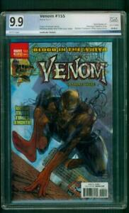 Venom 155 PGX 9.9 Amazing Spider Man 546 Homage Variant Cover up CGC 9.8