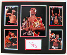 Joe CALZAGHE Signed MOUNTED Autograph Boxing DISPLAY AFTAL COA Pride of Wales