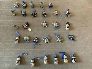 Assorted Polish Pottery Ornaments (Lot)