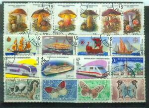 Lot Briefmarken aus Madagaskar