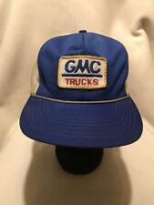 Vintage GMC Trucks Patch Snapback Hat Cap
