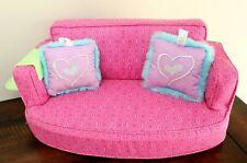 American Girl Maryellen Larkin Sofa Bed Zigzag Pattern Blanket for Doll Only