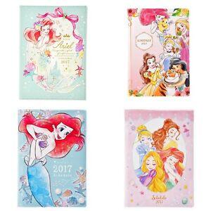 Disney Store Japan Princess Sketch Notebook Pad Journal Planner Diary Schedule