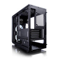 Fractal Focus G Mini No Power Supply MicroATX Case w/ Window (Black)