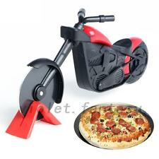 Motorcycle Pizza Cutter Wheel Chopper Slicer Stainless Steel Kitchen Gadgets