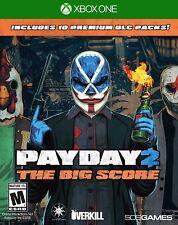 Payday 2: The Big Score (Microsoft Xbox One, 2016)