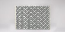 New Swoon Soho Rug Large 210 x 150cm Smoke Grey Hand-woven Rrp £229 New Other