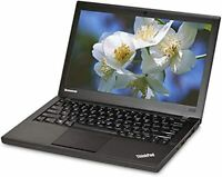 "Lenovo ThinkPad X240 12.5"" Laptop, Core i5, HDD or SSD, 4/8GB, Webcam, Win 7/10"