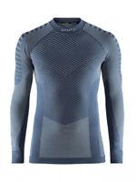 Funktionsshirt Sportshirt CRAFT Active Intensity CN LS M, Herren, Langarm, blau