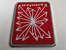 Genuine OEM Innocenti Export Badge A-panel Partsnumber AXE385