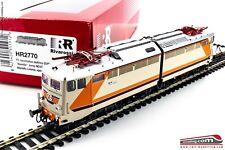 """RIVAROSSI HR2770 - H0 1:87 - Locomotiva elettrica FS E 646 049 """"NAVETTA"""" MDVC de"""