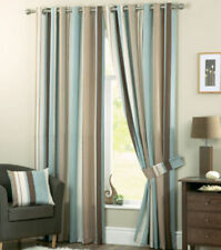 Polyester Striped Window Curtains & Drapes