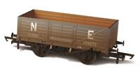 Oxford Rail 76MW6001W OO Gauge LNER 6 Plank Wagon Weathered