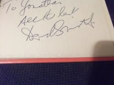 Doctor Who Are You Being Served? Blake's 7 DEREK SMITH hand signed page