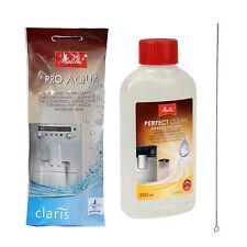 PRO Aqua Filter + 1 PERFECT CLEAN Milchsystem-Reiniger MELITTA + Bürste QUVIDO