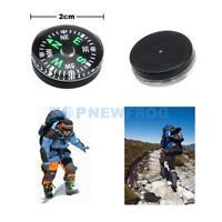 12 Stück Mini Kompass Φ 20mm neue Kleine für Camping Outdoor Survival Wandern