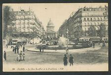 Paris  La Rue Soufflot et le Panthéon