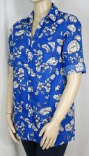 Millers Short Sleeve Button Down Shirt Regular Tops & Blouses for Women