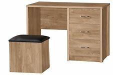 Oak Bedroom Modern Dressing Tables with Stool