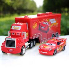 Disney Pixar Cars Lightning McQueen & Mack Superliner Racing Car Diecast Kid Toy