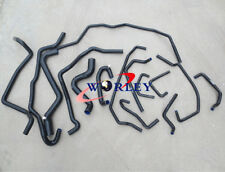 silicone water/coolant/radiator hose for Renault 5/R5 GT turbo Phase 2 88-91 BLK