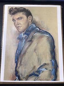 Elvis Betty Harper Signed Print / Elvis At Graceland 1960 / Daly Deal