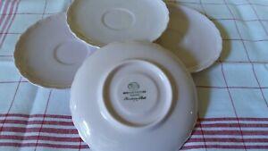 """HUTSCHENREUTHER """"Porcelaine rose"""" 4 Unterteller 14cm"""