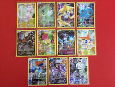 Pokemon 20th ANNIVERSARY MYTHICAL SET XY110 - XY120 MEW SHAYMIN - ALL 11 CARDS!