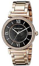 Michael Kors MK3356 Catlin Women's Analog Watch Rose Gold-Tone Steel Bracelet