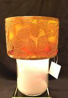 Yankee Candle Amber Leaves Jar Candle Shade