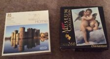 2 Mini Puzzle Castle & CHERUBINI 2 x 250 + Pezzi Stocking Filler Puzzle