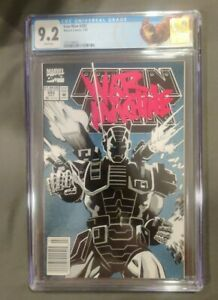 IRON MAN # 282 CGC 9.2 WHITE PAGES 1st FULL APPEARANCE WAR MACHINE