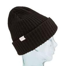 8b524bccf25 Coal Men s The Eddie Recycled Rib Knit Beanie Hat One Size Black